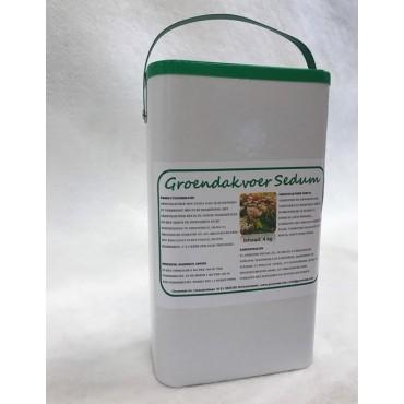 Groendakvoer Sedum emmer 4 kg